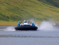 New Hovercraft built for ferry operations between Akutan and Akun